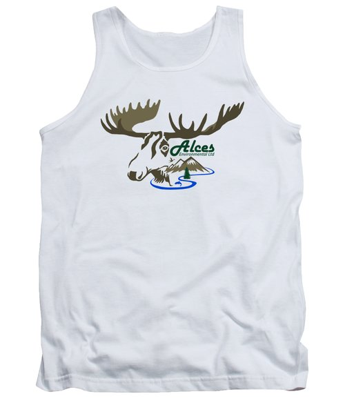 Alces Logo Men Hoodie Tank Top