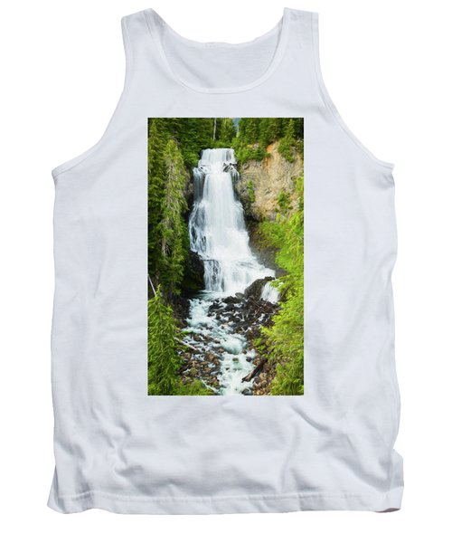Tank Top featuring the photograph Alexander Falls - 2 by Stephen Stookey