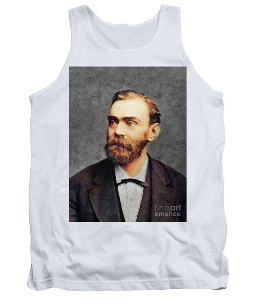 Alfred Nobel, Famous Scientist Tank Top