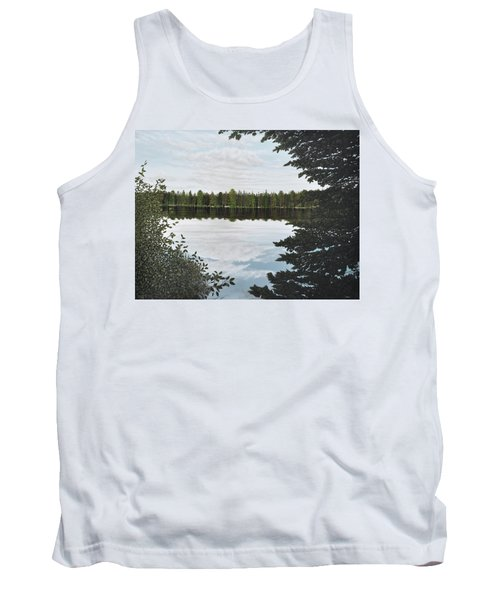 Tank Top featuring the painting Algonquin Park by Kenneth M  Kirsch