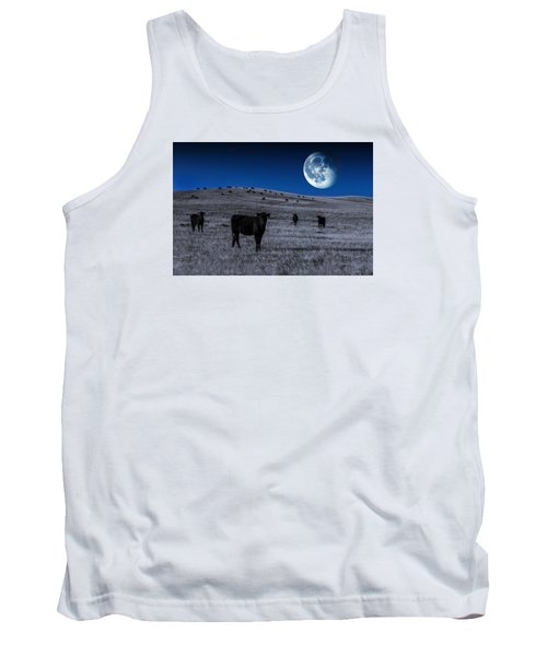 Alien Cows Tank Top