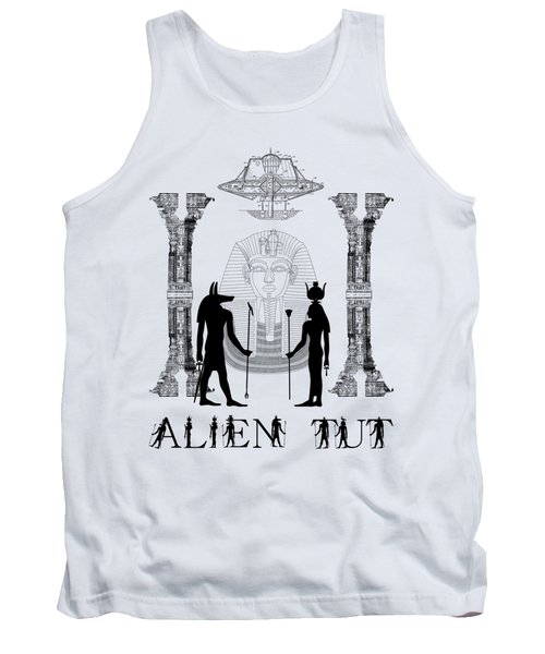 Tank Top featuring the photograph Alien King Tut by Robert G Kernodle