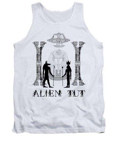 Alien King Tut Tank Top