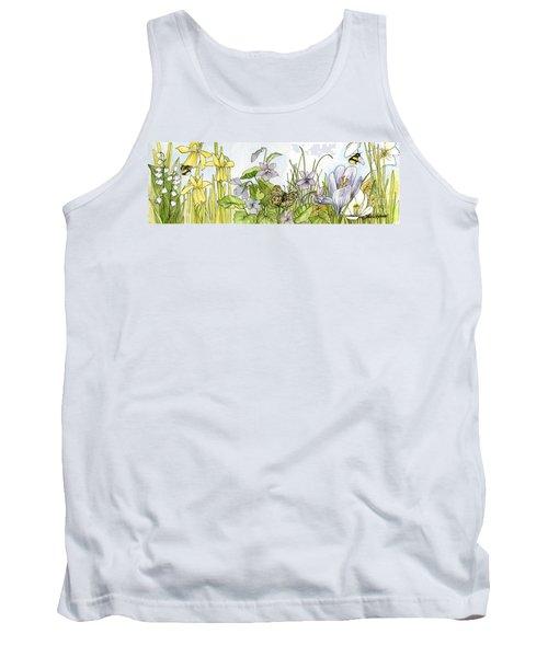 Alive In A Spring Garden Tank Top