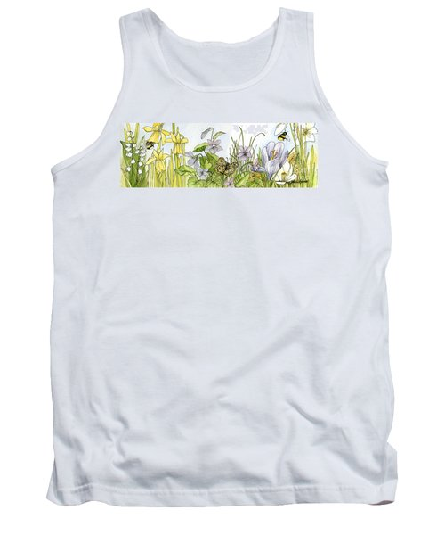 Alive In A Spring Garden Tank Top