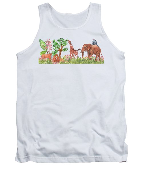 All Is Well In The Jungle Tank Top