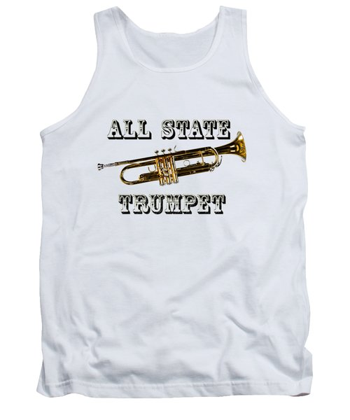 All State Trumpet Tank Top by M K  Miller