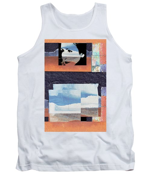 Tank Top featuring the photograph All That We See Or Seem Is But A Dream Within A Dream, Even She by Danica Radman