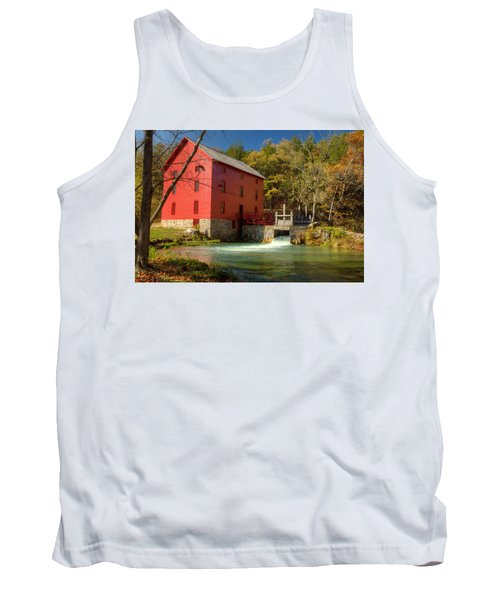 Tank Top featuring the photograph Alley Mill by Harold Rau