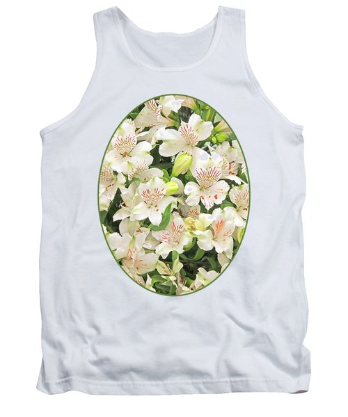 Alluring Alstroemeria - Peruvian Lilies Tank Top