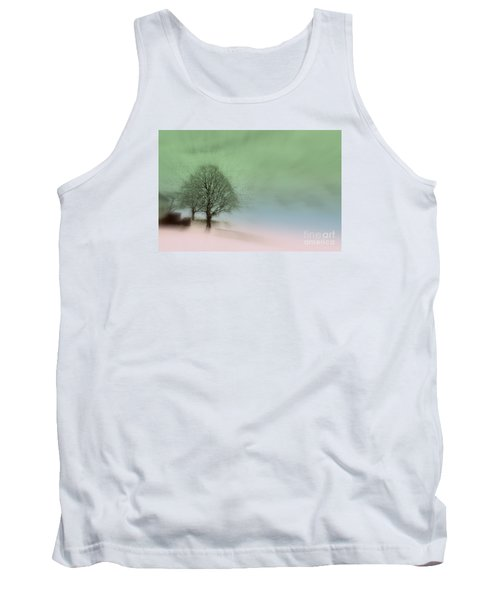 Tank Top featuring the photograph Almost A Dream - Winter In Switzerland by Susanne Van Hulst