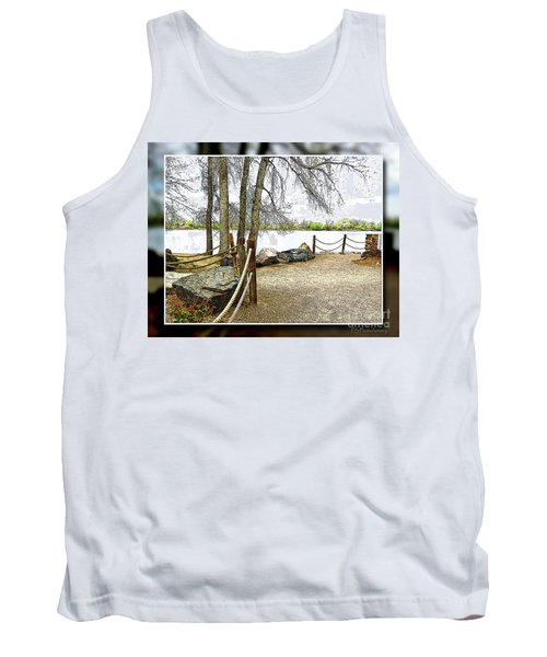 Almost Spring At Lafayette Lake Tank Top