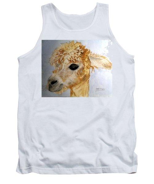 Alpaca Cutie Tank Top by Carol Grimes