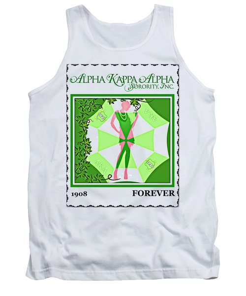 Alpha Kappa Alpha Tank Top by Lynda Payton