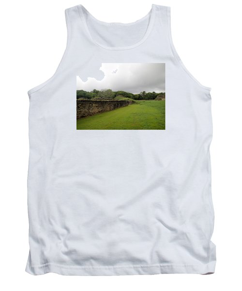 Tank Top featuring the photograph Altun Ha #1 by Lois Lepisto