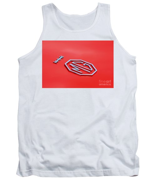 Tank Top featuring the photograph Aluminum Font by Stephen Mitchell