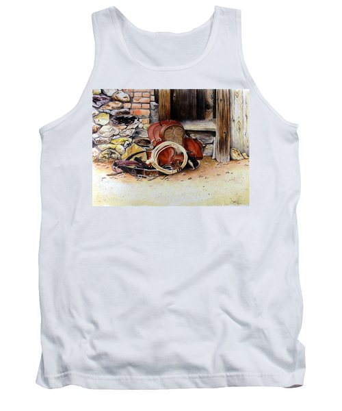 Amanda's Saddle Tank Top