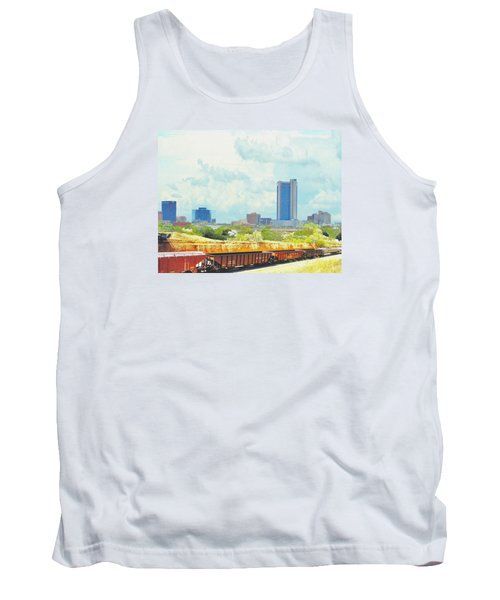 Amarillo Texas In The Spring Tank Top by Janette Boyd