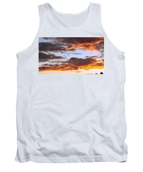 Glorious Clouds At Sunset Tank Top