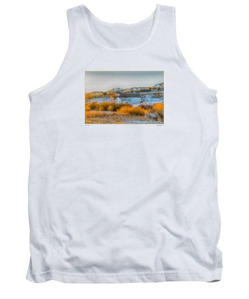 Amber Grass Tank Top by R Thomas Berner