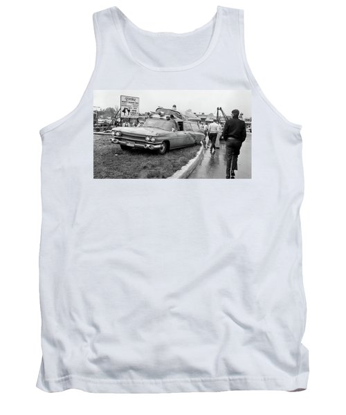 Ambulance Accident Tank Top by Paul Seymour