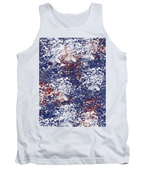 America Watercolor Tank Top