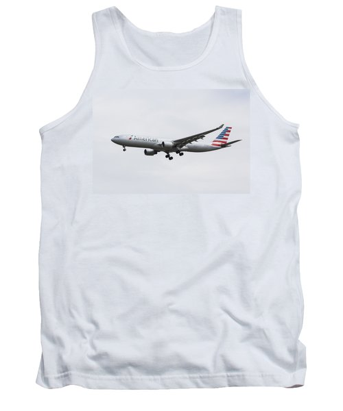 American Airlines Airbus A330 Tank Top