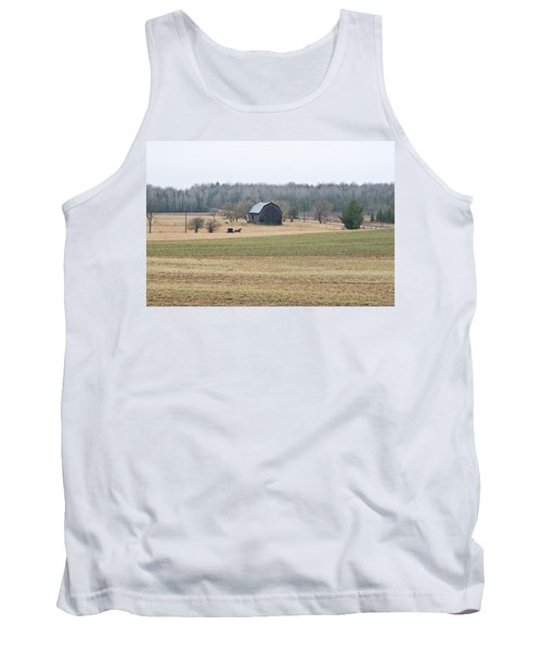 Tank Top featuring the photograph Amish Country 0754 by Michael Peychich