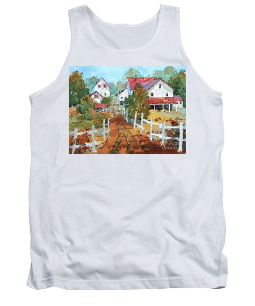 Amish Farm Tank Top