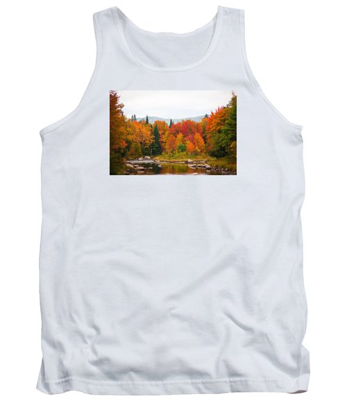 Tank Top featuring the photograph Ammonoosuc River by Robert Clifford