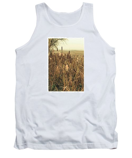 *among The Reeds  #landscape Tank Top