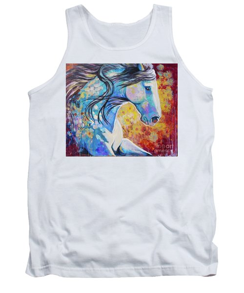 Among The Wildflowers Tank Top
