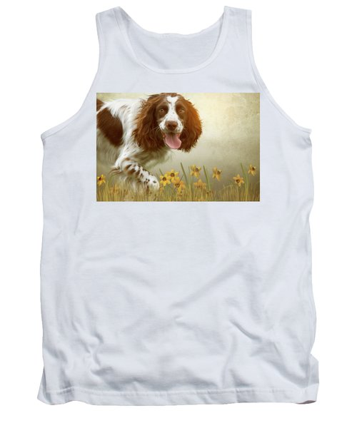 Amongst The Flowers Tank Top