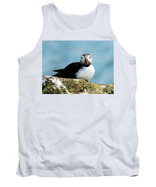 An Atlantic Puffin Tank Top by MaryJane Armstrong