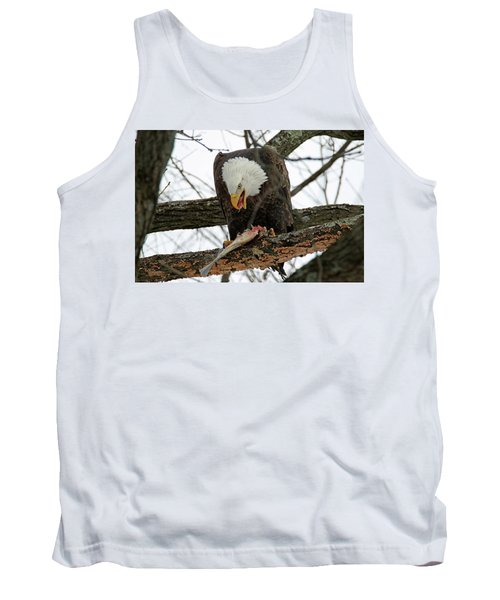 An Eagles Meal Tank Top by Brook Burling