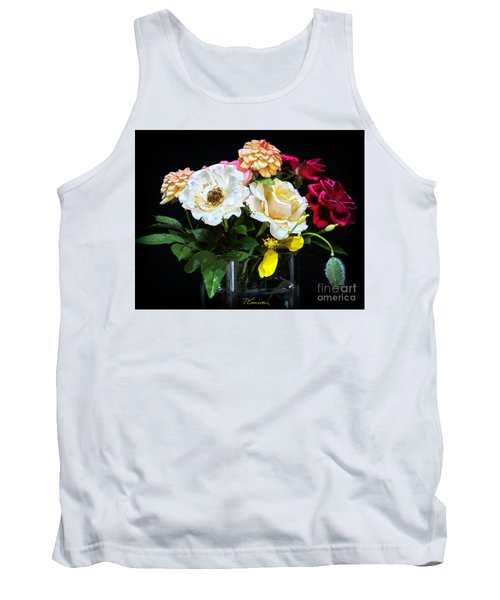 Tank Top featuring the photograph An Informal Study by Tom Cameron
