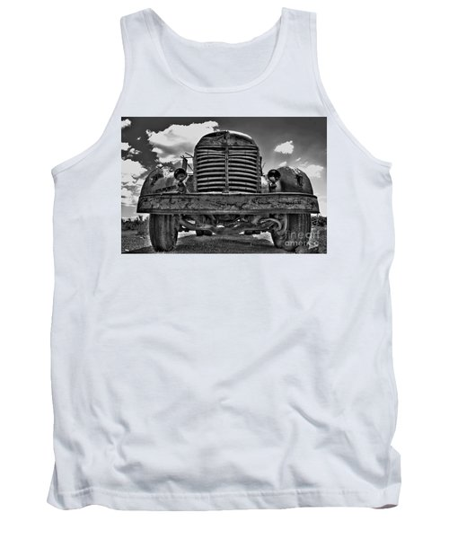 An Old International Truck Tank Top