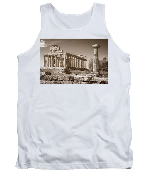 Ancient Paestum Architecture Tank Top