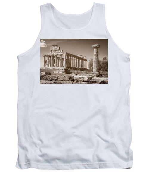 Ancient Paestum Architecture Tank Top
