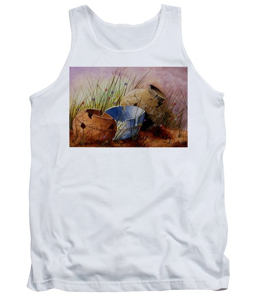 Ancient Relics A Paint Along With Jerry Yarnell' Study. Tank Top