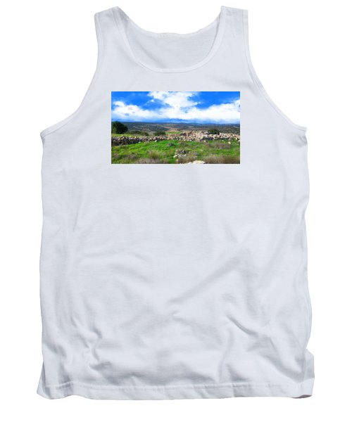 Ancient Ruins In Israel Tank Top