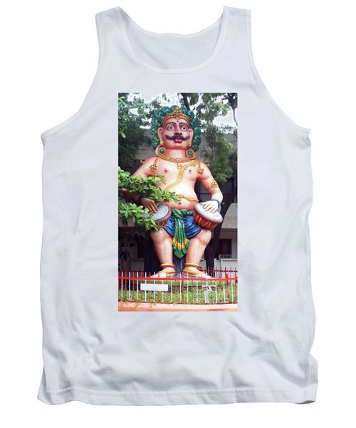 Tank Top featuring the photograph Ancient Security by Ragunath Venkatraman