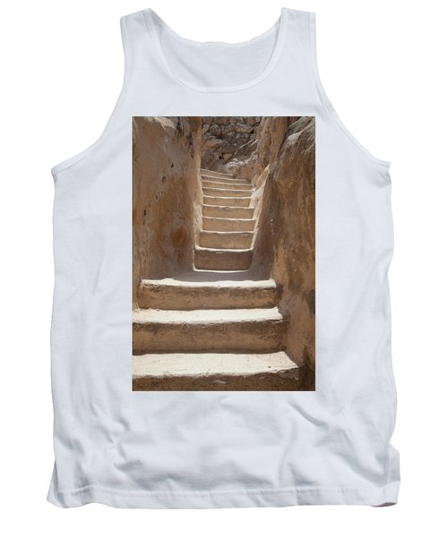 Ancient Stairs Tank Top by Yoel Koskas