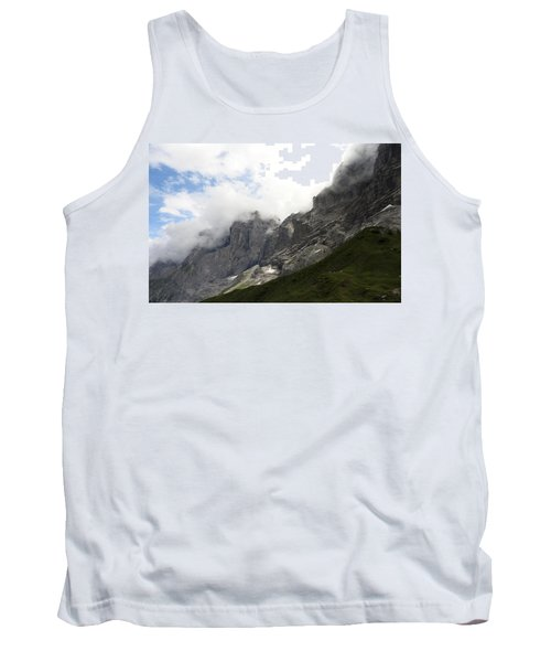 Angel Horns In The Clouds Tank Top by Ernst Dittmar