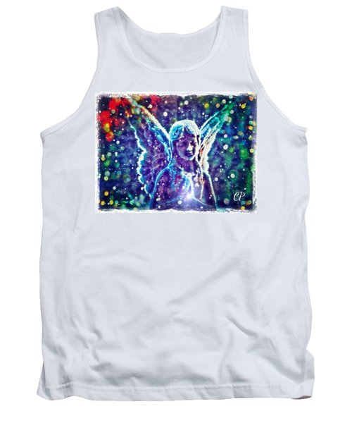 Angel In The Snow Tank Top