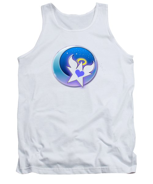 Angel Star Icon Tank Top by Shelley Overton