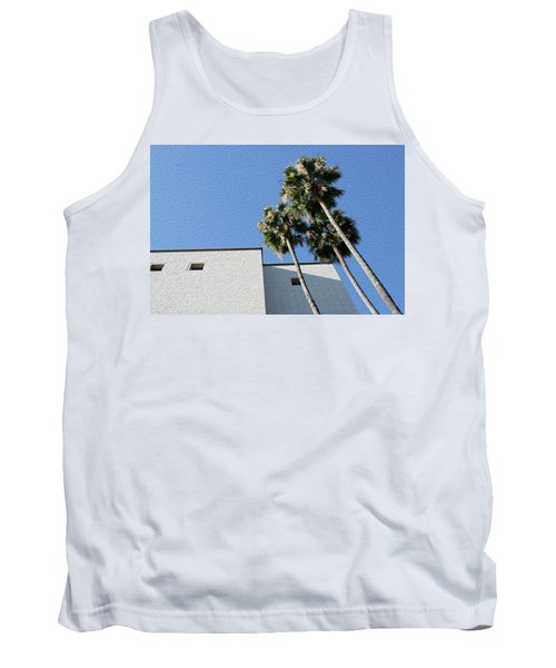 Angles And 3 Palm Tress Tank Top