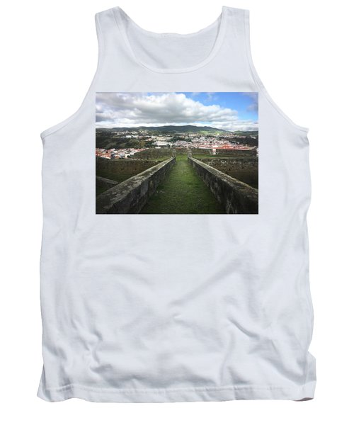 Angra Do Heroismo From The Fortress Of Sao Joao Baptista Tank Top