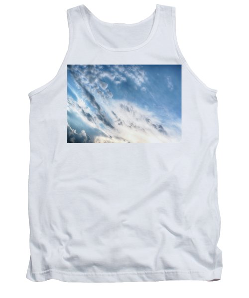 Tank Top featuring the photograph Angry Clouds by Susan Stone