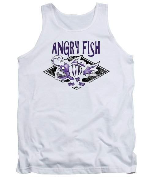Angry Fish Tank Top